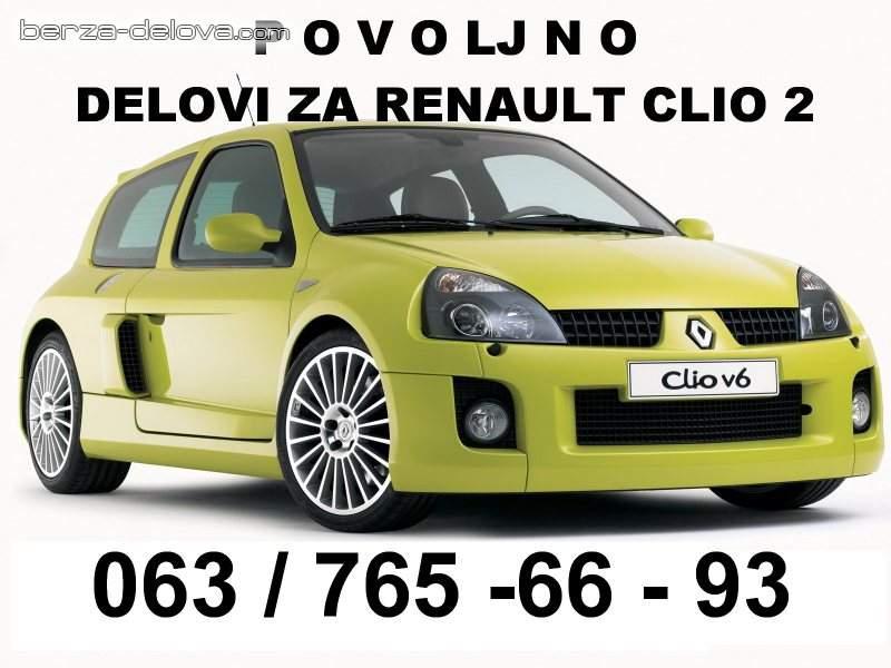 Polovni delovi za Renault vozila - Clio Laguna Scenic