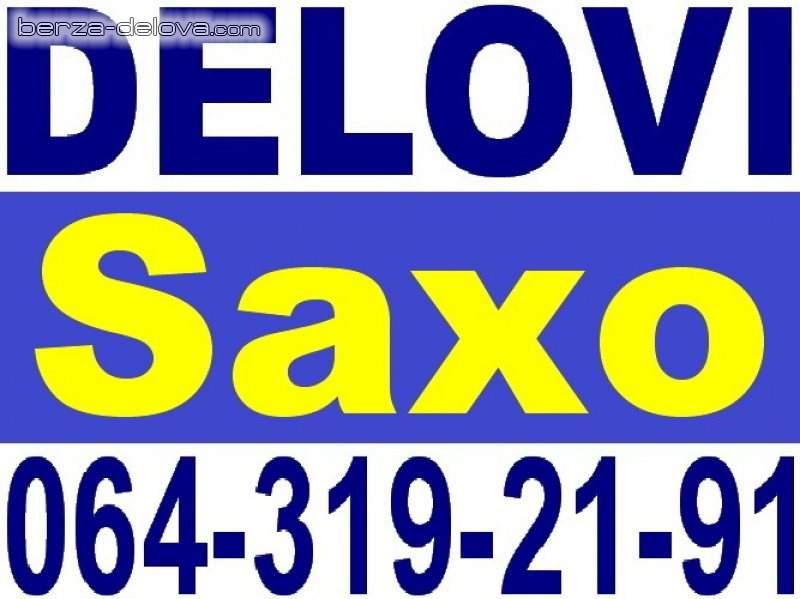 SAXO DELOVI Citroen