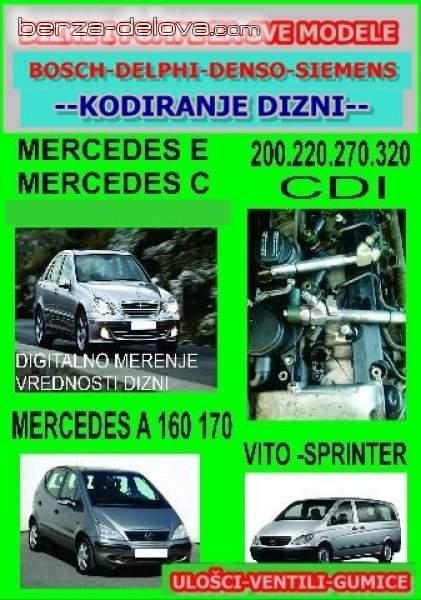 Dizne Mercedes cdi