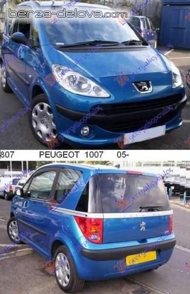 PEUGEOT -pezo- 1007 DELOVI