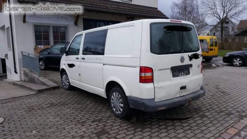 wv t5 2.5 4×4 transporter