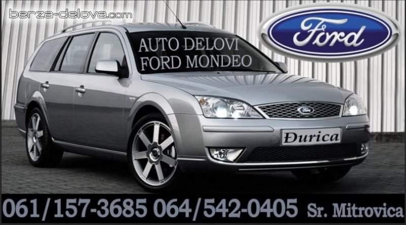 Glavni kocioni Ford Mondeo