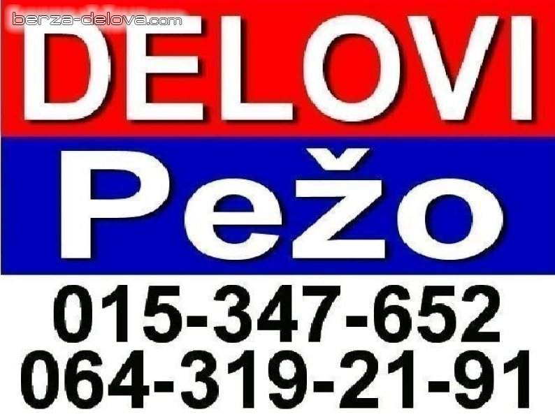 DELOVI 106 206 306 307 405 406 407 607 807 Partner Boxer