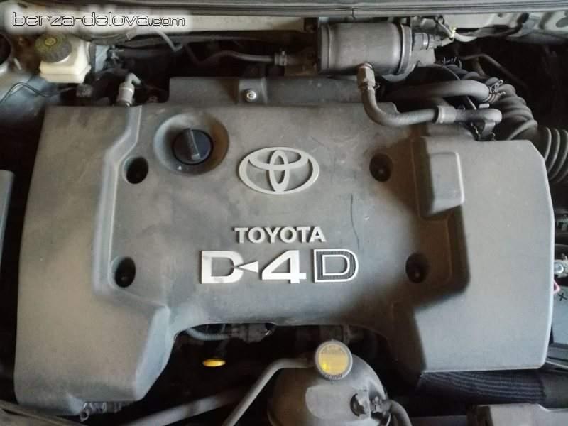 Toyota 2.0 D4D Motorni delovi