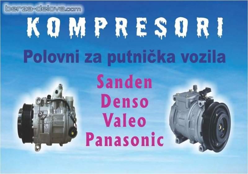 Kompresori Klime Mitsubishi Vw Peugeot Toyota Smart