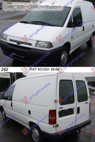Delovi za Peugeot expert,  Fiat scudo,  Citroen jumpy