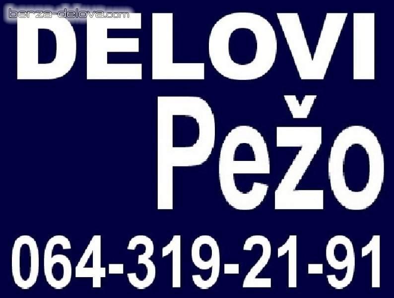 Pežo 106 205 306 309 405 605 806 Expert Peugeot DELOVI