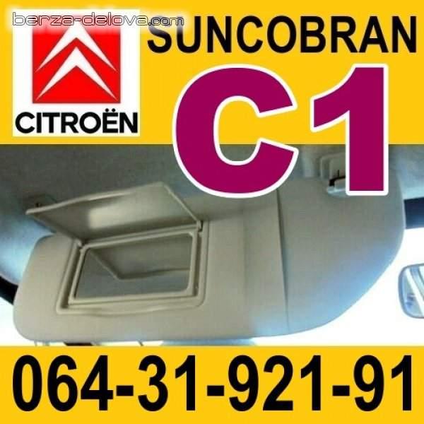 Suncobran štitnik Citroen C1